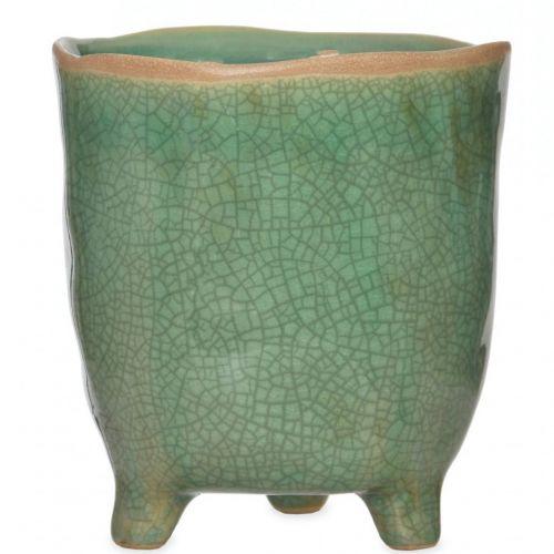 Garden Trading / Keramický obal na kvety Positano Green