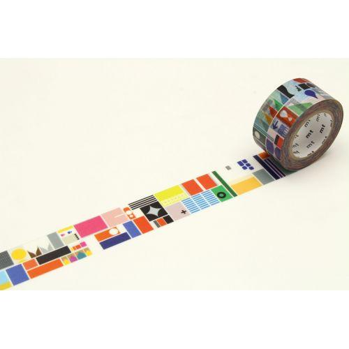 mt / Japonská papierová páska Remixed Shapes