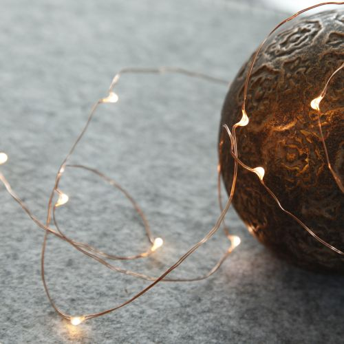 STAR TRADING / Svietiaci LED drôtik Copper String 1,1 m