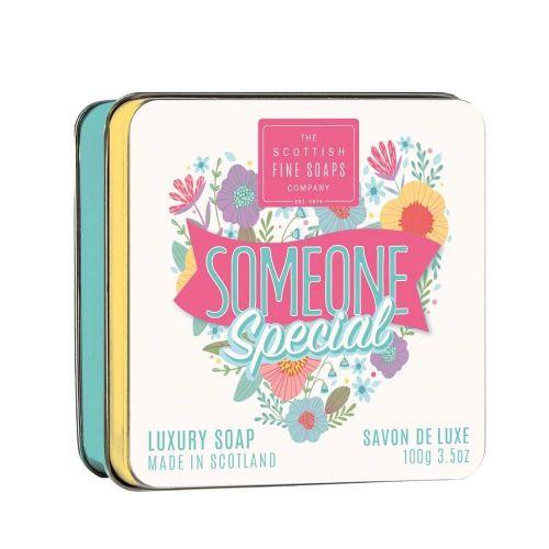 SCOTTISH FINE SOAPS / Mydlo v plechovej krabičke Someone Special 100g