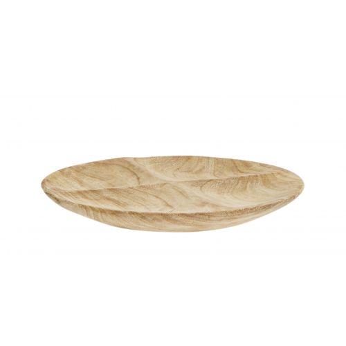 MADAM STOLTZ / Drevený servírovací tanier Wood