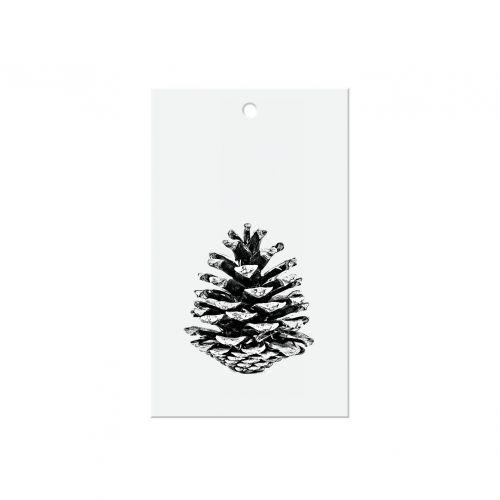 TAFELGUT / Papierový štítok Pine cone