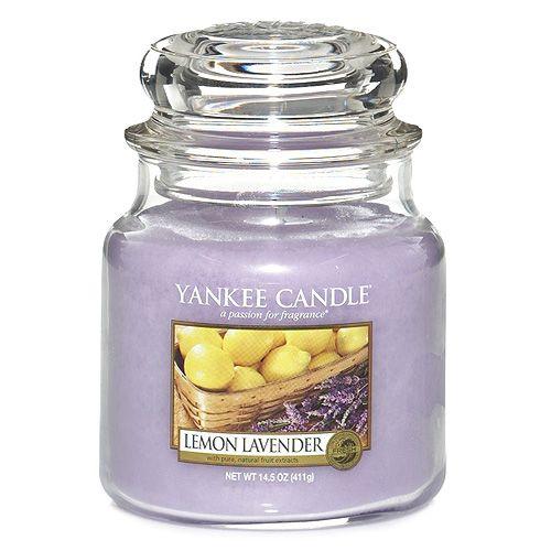 Yankee Candle / Sviečka Yankee Candle 411gr - Lemon Lavender