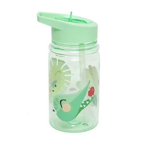 PETIT MONKEY / Detská fľaša Animals Green