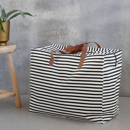 House Doctor / Nákupní taška Stripes - širšie