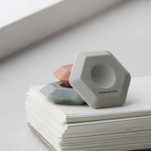 MONOGRAPH / Gumy na gumovanie Erasers 3 ks
