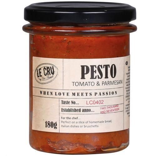 LE CRU Delicacies / Pesto zo sušených paradajok s parmezánom 180gr
