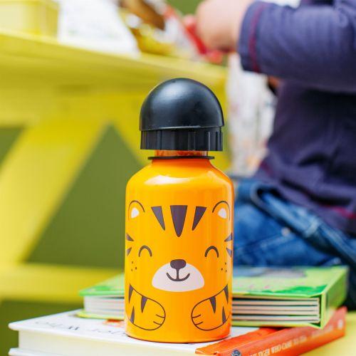 sass & belle / Detská kovová fľaša Tiger Kids 300 ml