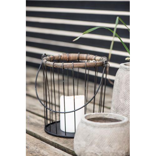 IB LAURSEN / Drôtený svietnik Bamboo