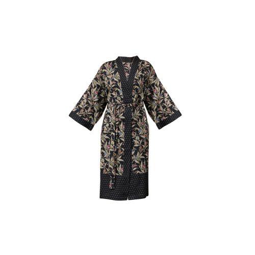 Chic Antique / Kimono s opaskom Black Oriental