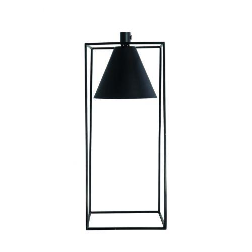 House Doctor / Kovová lampa Black Kubix