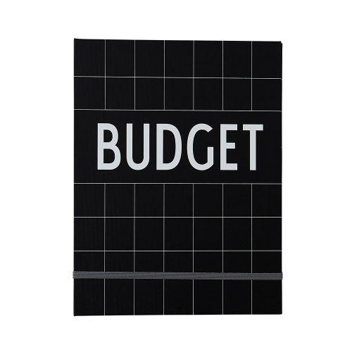 DESIGN LETTERS / Zápisník na financie Budget