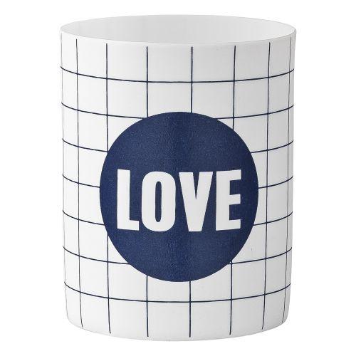 Bloomingville / Porcelánový svietniček Love