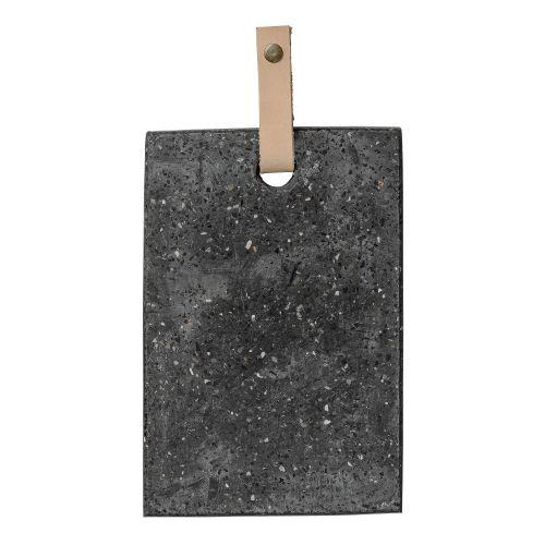 Bloomingville / Dekoratívna terazzová doštička Terrazzo Black