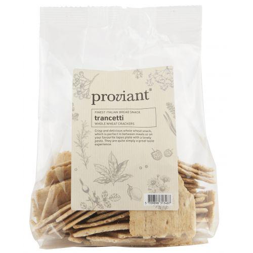 Proviant / Slané krekry Trancetti Whole Wheat