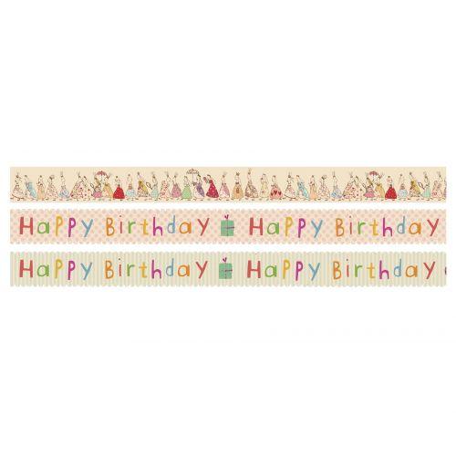 Maileg / Samolepiaca designová páska Birthday