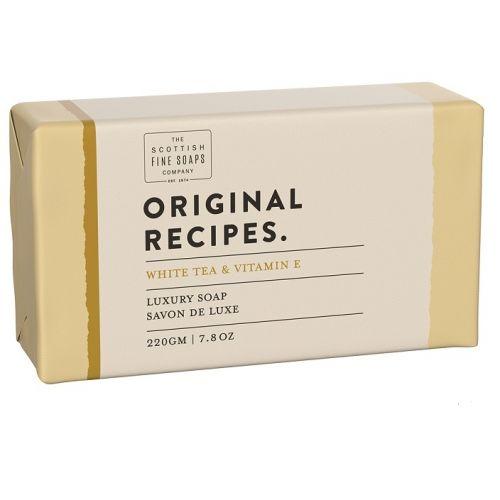 SCOTTISH FINE SOAPS / Luxusné tuhé mydlo Bielý čaj a vitamín E - 220g