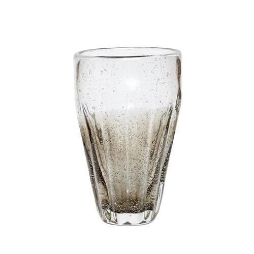 Hübsch / Pohár Grey Bubbles 380ml