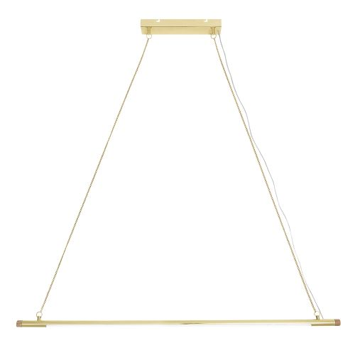 Bloomingville / Závesná LED lampa Gold Metal