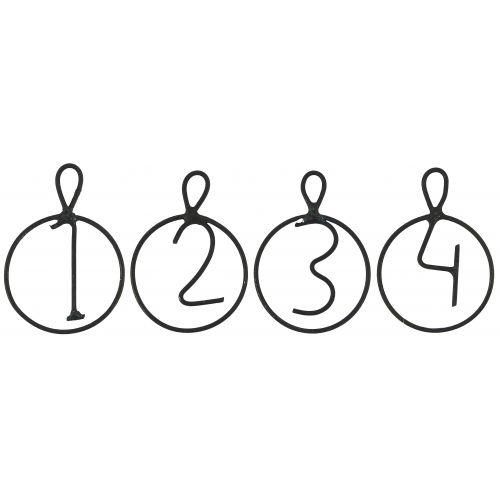 IB LAURSEN / Adventné štítky 1-4