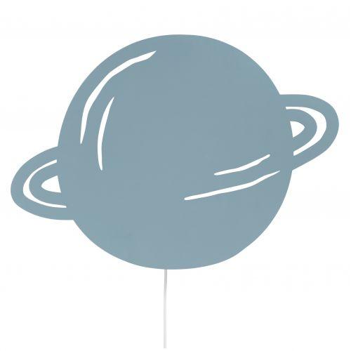 ferm LIVING / Detská nástenná lampa Planet Dusty blue