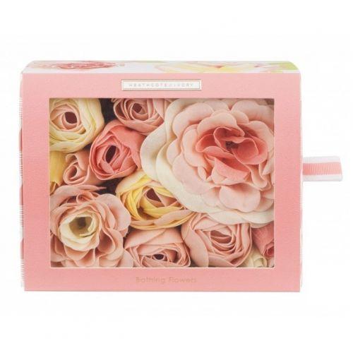 HEATHCOTE & IVORY / Mydlové kvety do kúpeľa Blush Rose