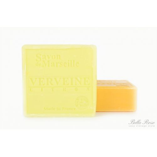 LE CHATELARD / Marseillské mydlo 100 g štvorec - verbena a citrón