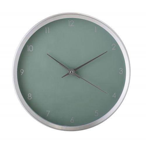 Bloomingville / Nástenné hodiny Aluminium Green