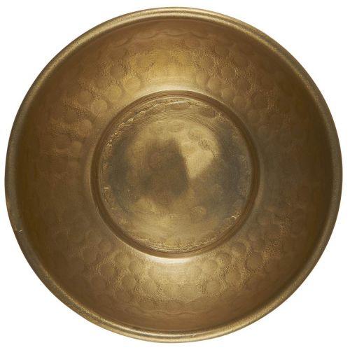 IB LAURSEN / Kovová mištička Hammered Pattern Antique Brass