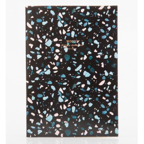 Woouf! / Notes Black Terrazzo A5