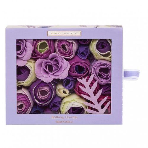 HEATHCOTE & IVORY / Mydlové kvety do kúpeľa Lavender Field