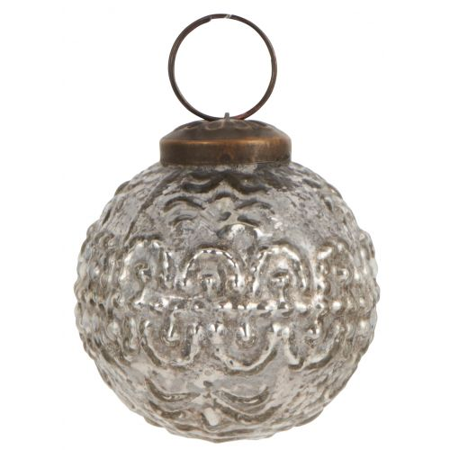 IB LAURSEN / Vianočná ozdoba Pattern Silver 5cm