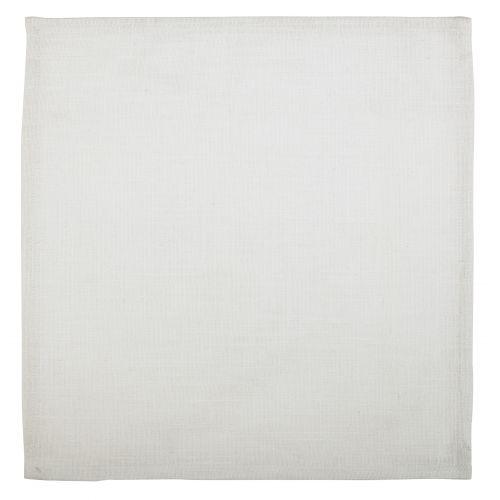 IB LAURSEN / Bavlnený obrúsok White 40x40