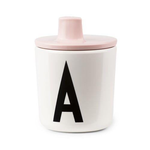 DESIGN LETTERS / Viečko na pitie na melamínový hrnček Pink
