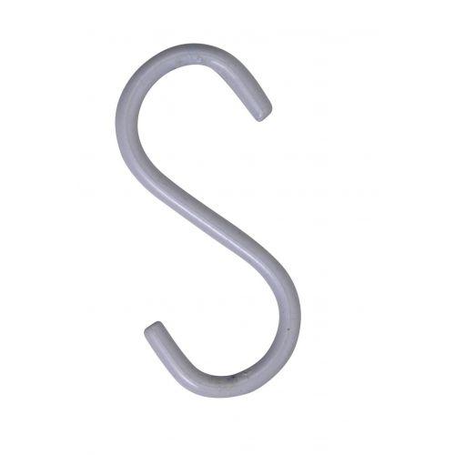 MADAM STOLTZ / Háčik White 6 cm