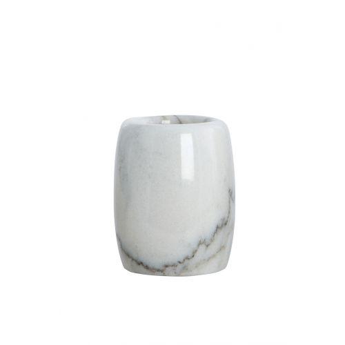 House Doctor / Mramorový téglik na kefky Marble