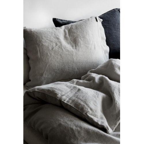 Lovely Linen / Prírodné ľanové obliečky Light Grey