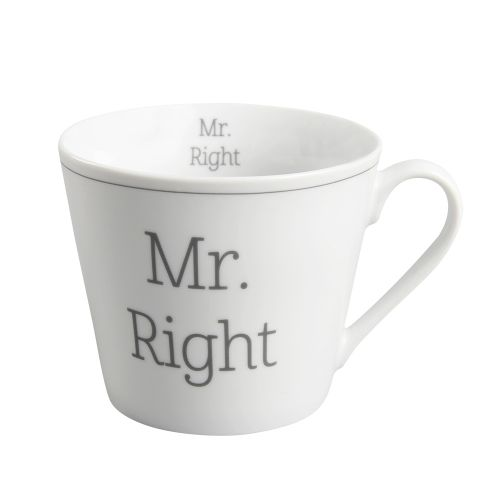 Krasilnikoff / Porcelánový hrnček Mr. Right