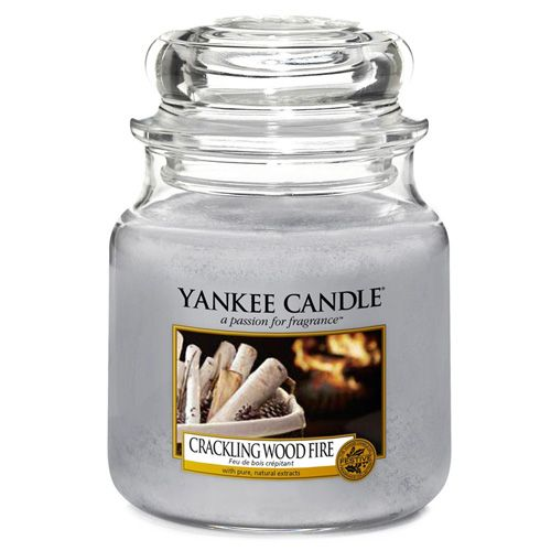 Yankee Candle / Svíčka Yankee Candle 411gr - Crackling Wood Fire