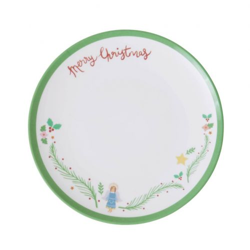 rice / Melamínový vianočný tanierik Xmas Angel