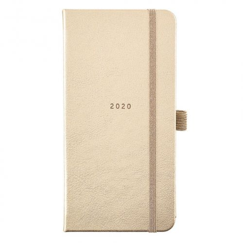 Busy B / Plánovací diár Perfect Gold Diary Slim 2020