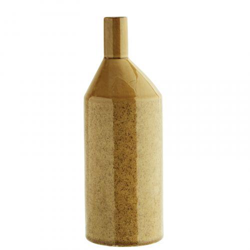 MADAM STOLTZ / Keramická váza Stone Light Yellow Tall