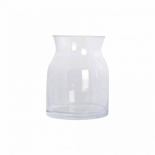 House Doctor / Sklenená váza Ruby Clear 16 cm