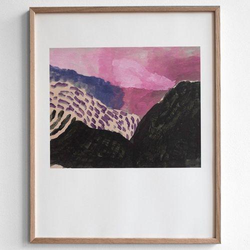 Fine Little Day / Autorský plagát Landscape 40x50 cm