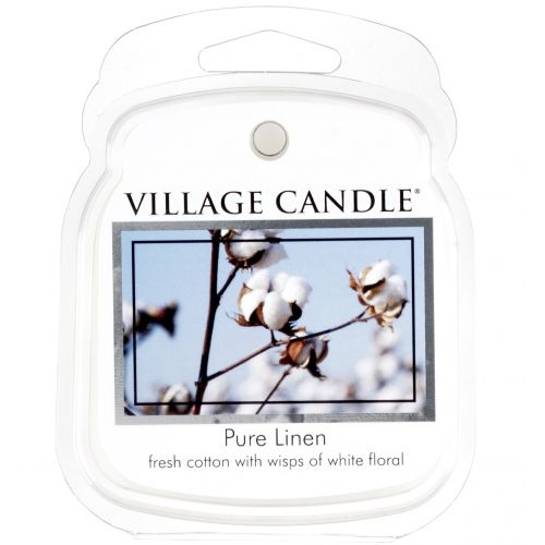 VILLAGE CANDLE / Vosk do aromalampy Pure Linen