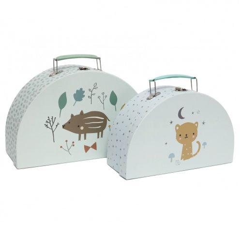PETIT MONKEY / Detský kufrík Boar & Leopard