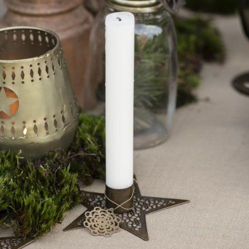 IB LAURSEN / Kovový svietnik Star Gold 11 cm