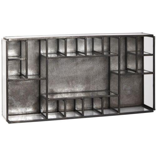 IB LAURSEN / Úložný box s priehradkami Black Factory