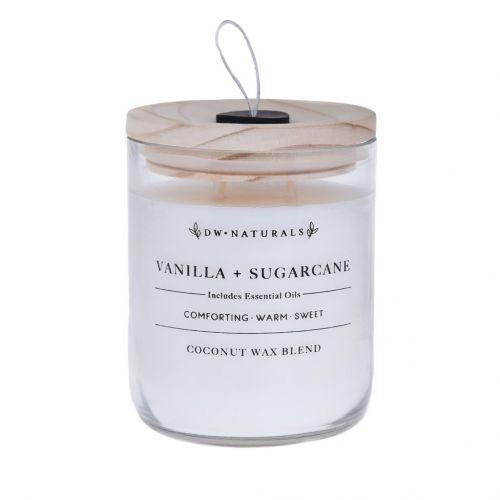 dw HOME / Vonná sviečka v skle Vanilla Sugar Cane 500g