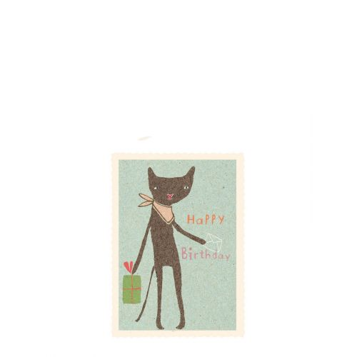 Maileg / Dárková kartička Cat
